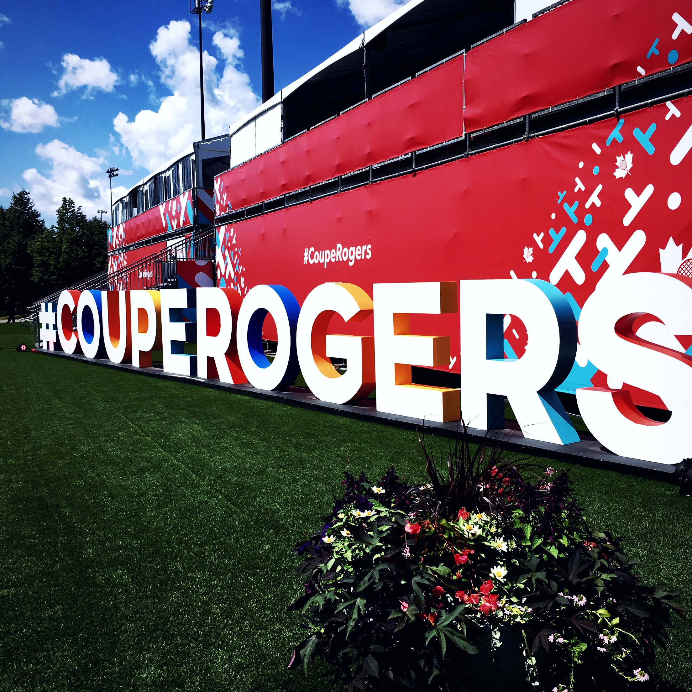 Tennis fever @therogerscup