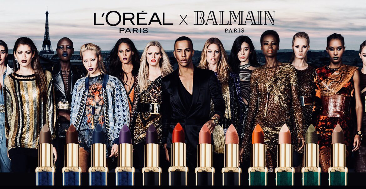 Balmain x L'Oreal capsule collection is finally here