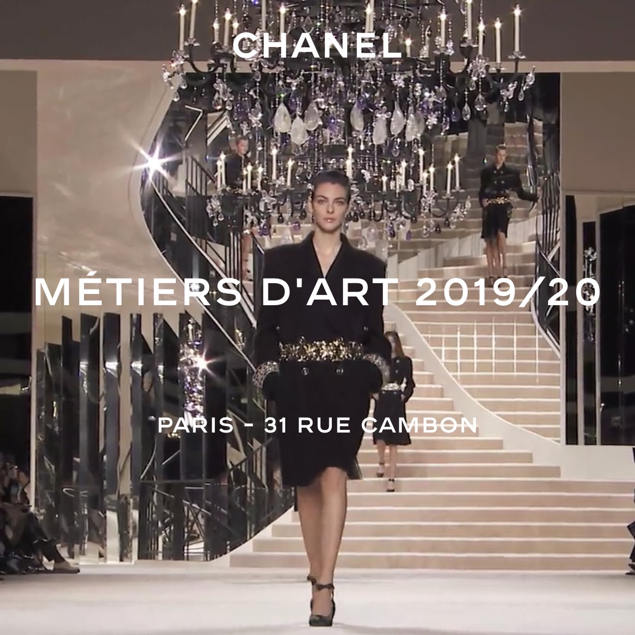 CHANEL MÉTIERS D'ART 2019/20 Show PARIS – 31 RUE CAMBON – Backstage